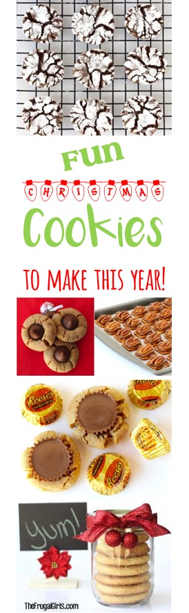 Fun Christmas Cookie Recipes from TheFrugalGirls.com