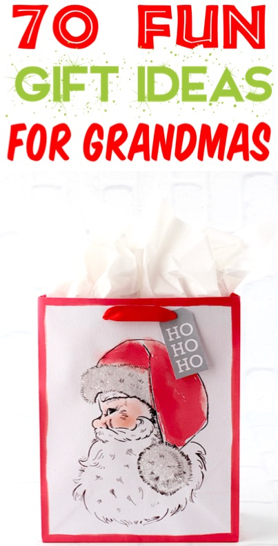 Grandparent Gifts from Kids for Christmas