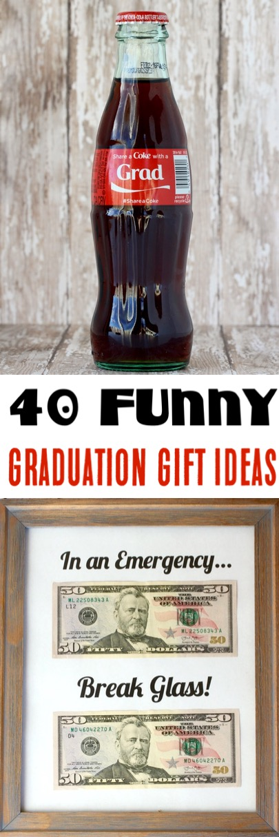 Graduation Party Ideas - Fun and Funny Gift Ideas for High School and College Grads