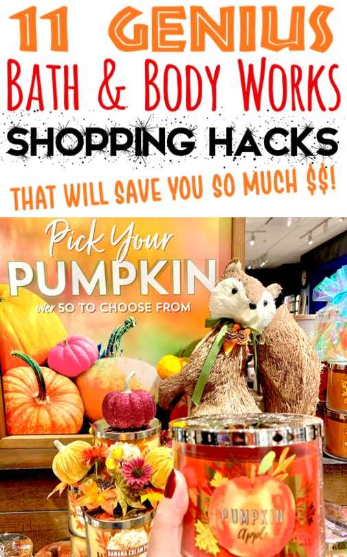 Bath and Body Works Candles and Perfume Hacks