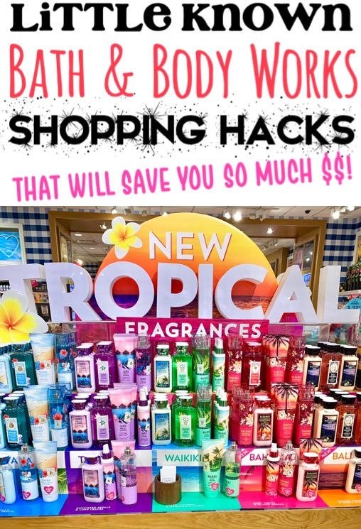 Bath and Body Works Hacks for Candles, Perfume Collection and Lotions