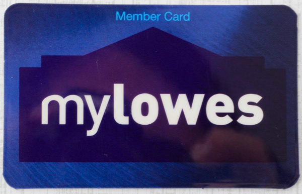 My Lowes Card