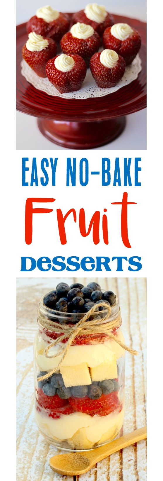 No Bake Desserts with Fruit from TheFrugalGirls.com