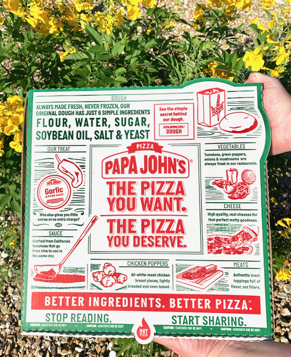 Papa Johns Deals