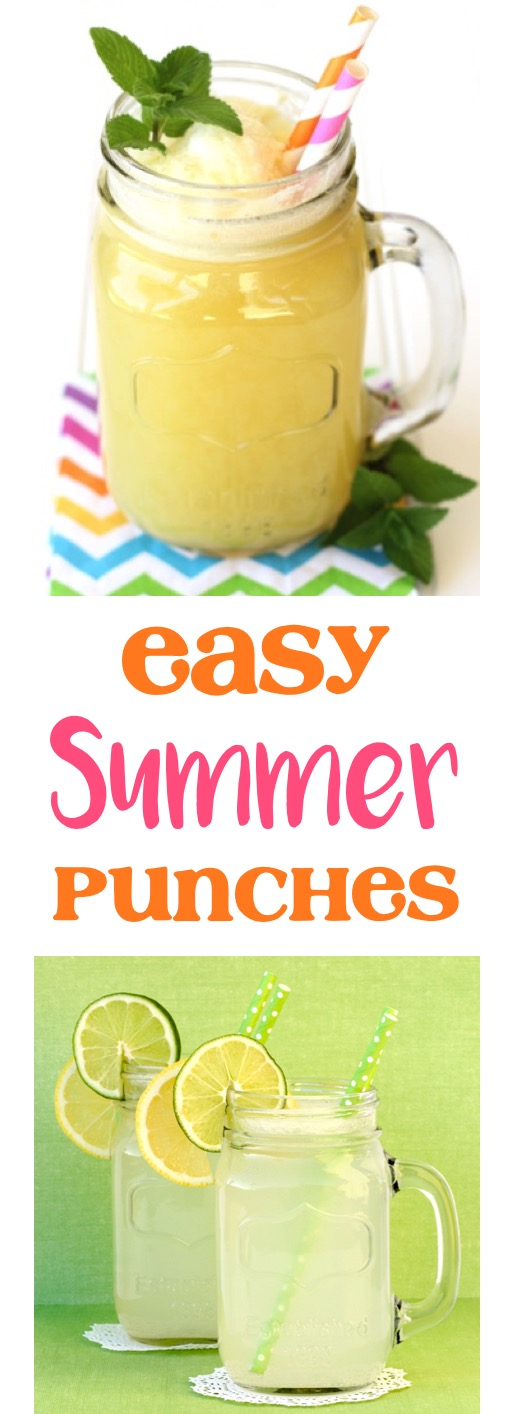 Summer Punch Recipes from TheFrugalGirls.com