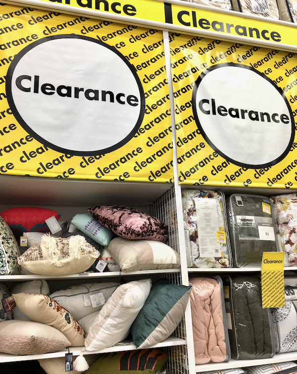 Bed Bath and Beyond Clearance