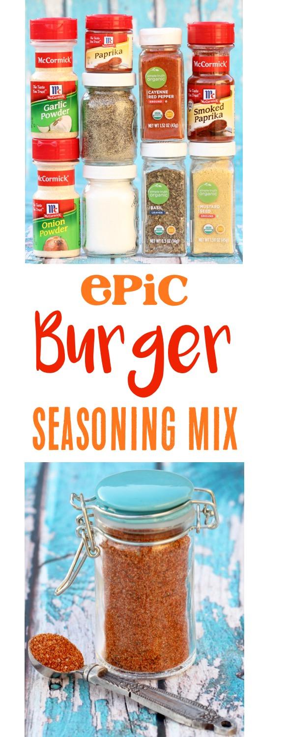 Burger Seasoning Mix Recipe from TheFrugalGirls.com