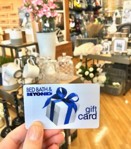 Free Bed Bath and Beyond Gift Card