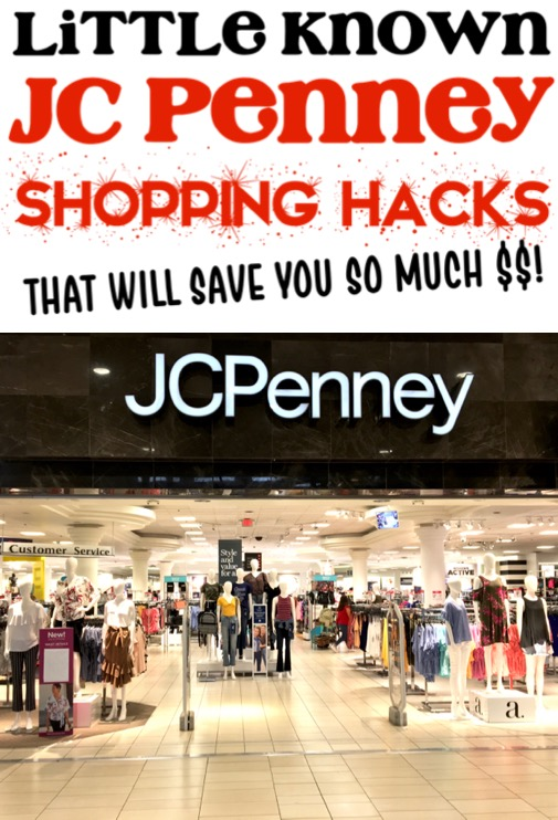 JC Penney Hacks How to Save Money On Outfits, Portraits and More