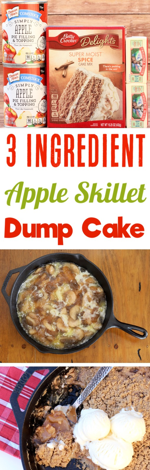 Apple Dump Cake Recipe Easy