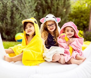 Free Baby Towels with Hoods!