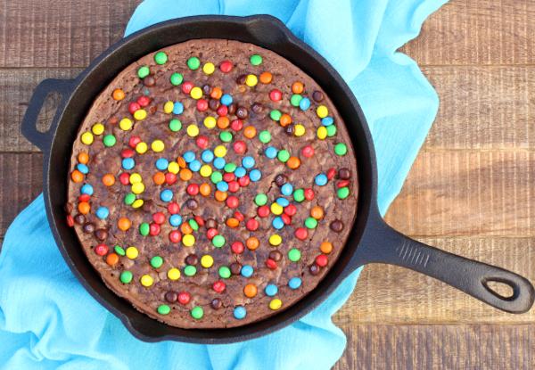 Cast Iron Skillet Brownie Recipe