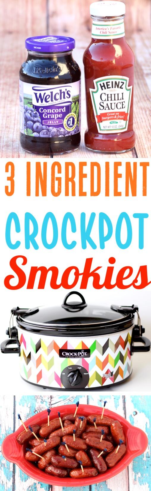 Crockpot Smokies Recipe Grape Jelly