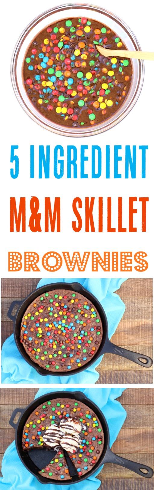 Skillet Brownie Cast Iron Recipe