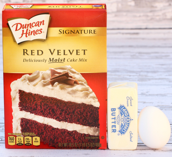 Red Velvet Cookie Recipe From Cake Mix