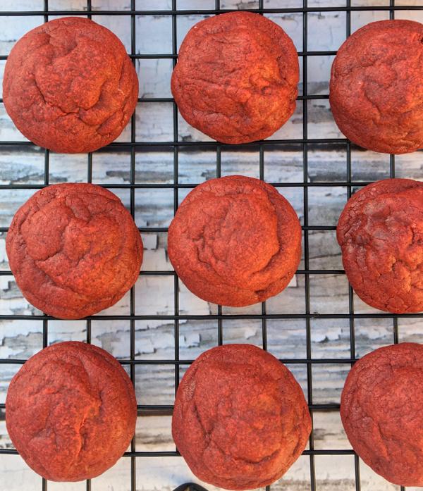 Red Velvet Cookies Recipe Easy