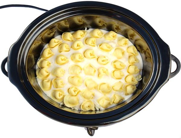 Crockpot Alfredo Tortellini Recipe
