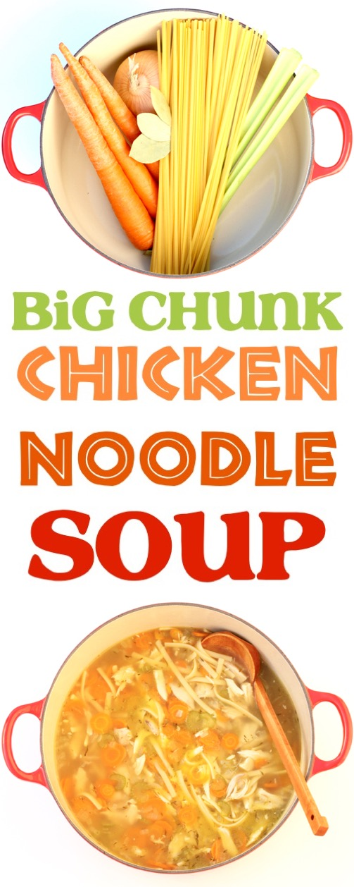homemade chicken noodle soup recipe with rotisserie chicken