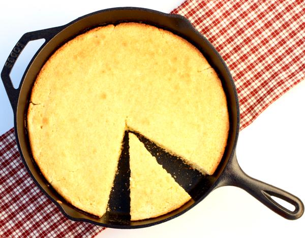 Skillet Cornbread Recipe No Buttermilk
