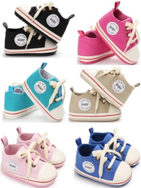 Baby Tennis Shoes! {Get 2 Free Pairs or $60 OFF Site Wide!}