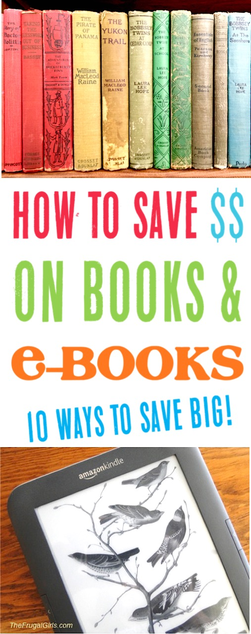 Books to Read How to Save Money on Books and eBooks