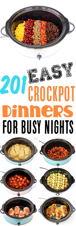 Crockpot Recipes Easy Cheap Dinner Ideas