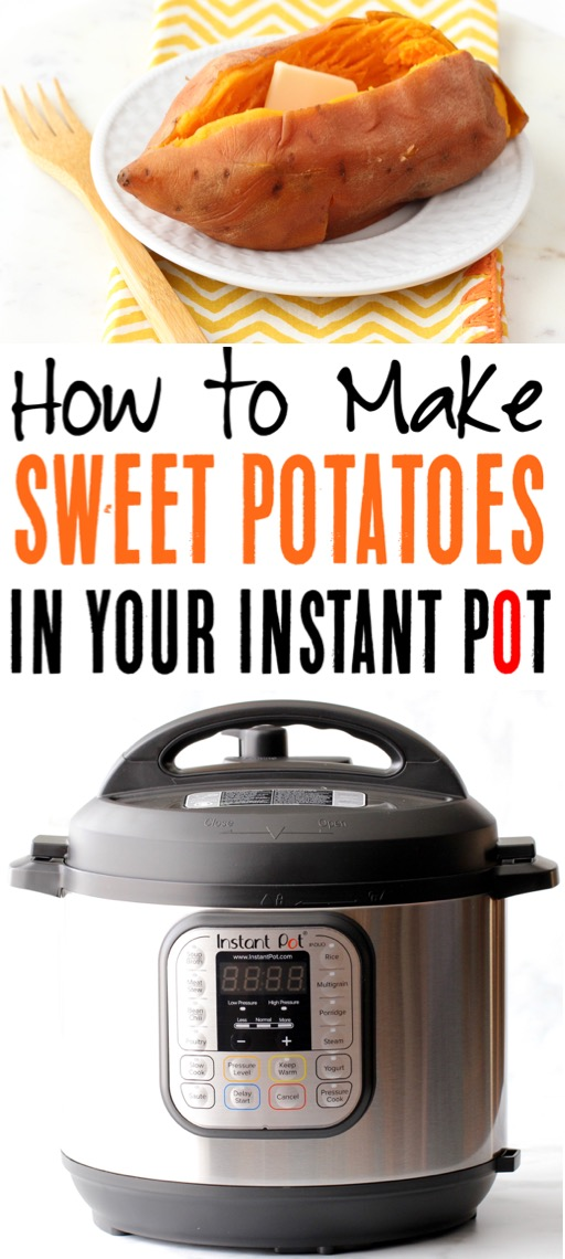 Instant Pot Sweet Potatoes Recipe Baked