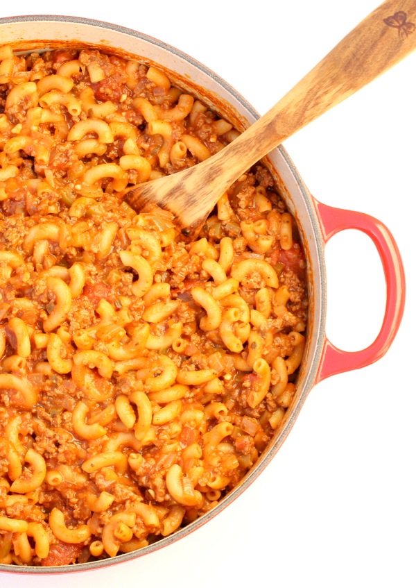 One Pot Goulash Recipe