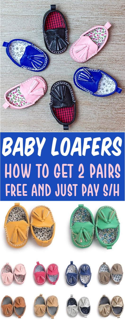 Baby Shoes Loafers