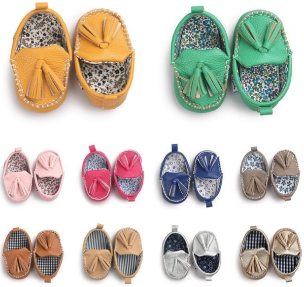 Free Baby Penny Loafers