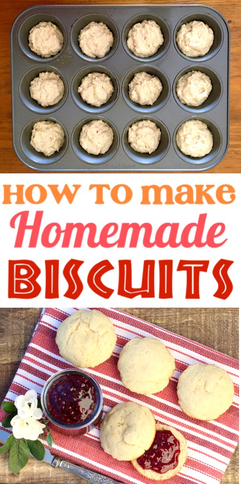 Homemade Biscuits Recipe Easy Without Buttermilk