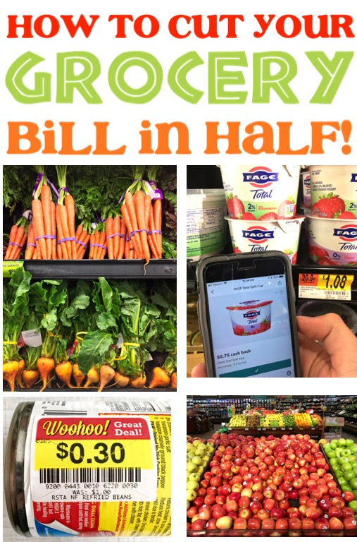 Save Money on Groceries Challenge Easy Tips and Frugal Living Ideas That Will Help You Cut Your Bill in Half