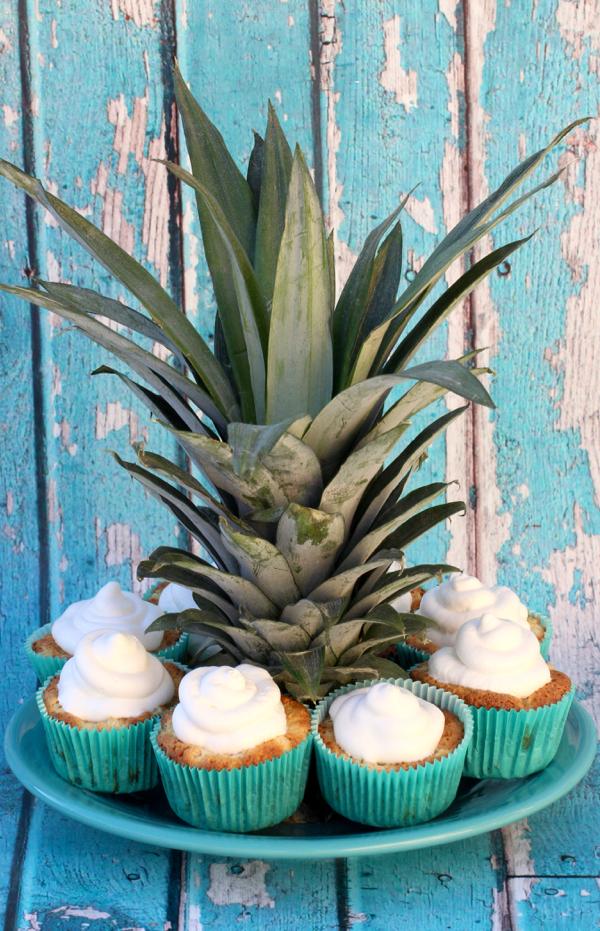 2 ingredient Pineapple Angel Food Cupcakes Recipe