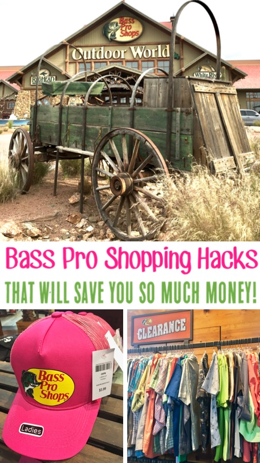 Bass Pro Shop Store Shopping Hacks for Hat, Decor, Clothing and more