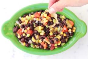 Easy Cowboy Caviar Recipe at TheFrugalGirls.com