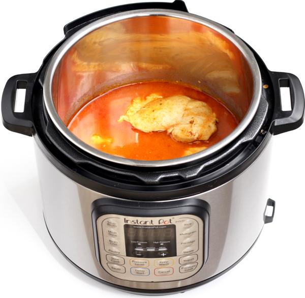 Instant Pot Buffalo Chicken Recipe