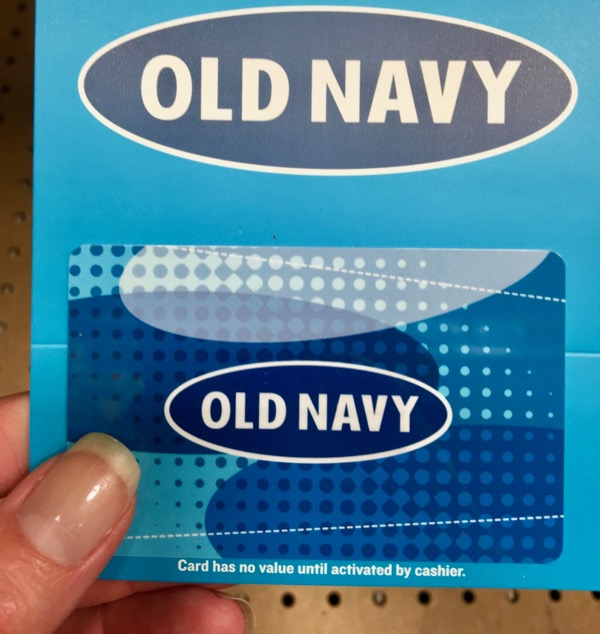 Free Old Navy Gift Cards