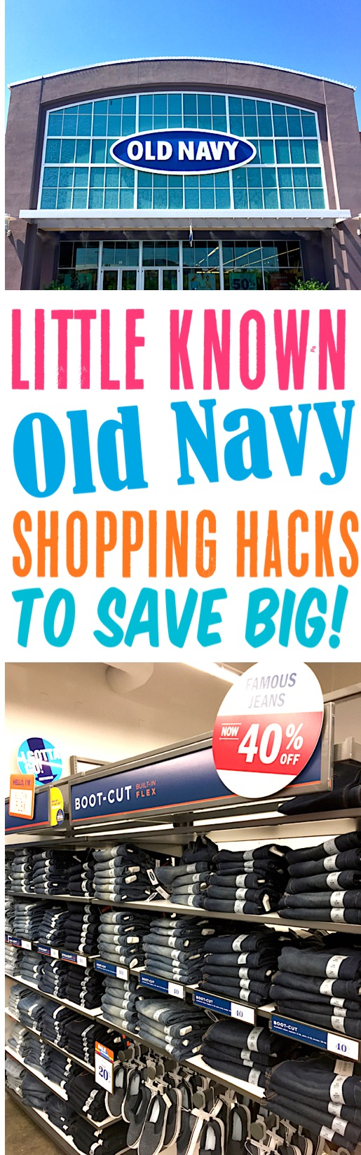 Old Navy Outfits and Shopping Hacks to Save More Money