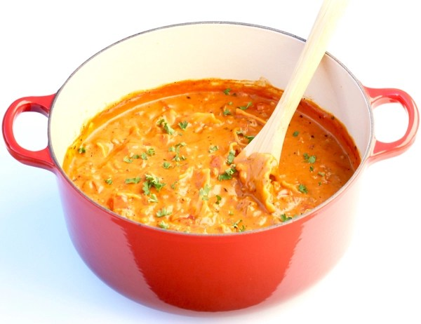 Lasagna Soup Cheesy Yum