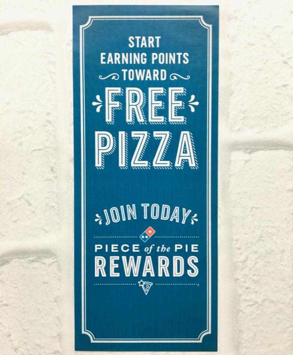 Dominos Free Pizza Rewards