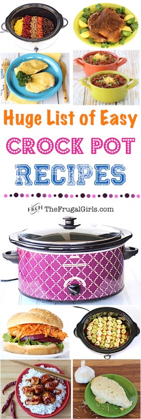 250+ Easy Crock Pot Recipes!