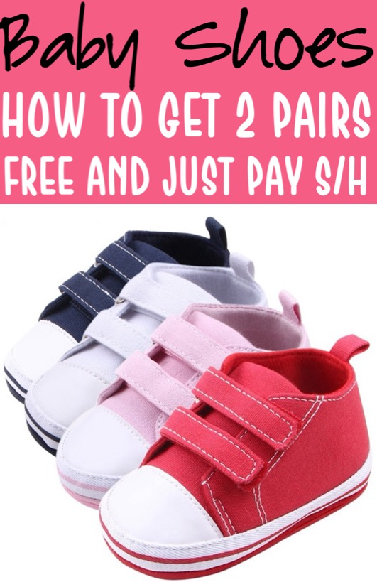 Baby Shoes Free Velcro Shoe for Babies Pick Your Favorite Pattern
