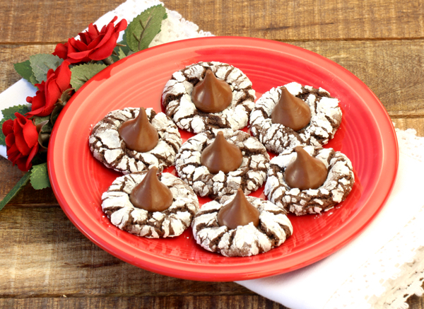 Chocolate Kiss Cookies Recipe without Peanut Butter