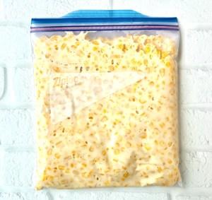 Freezer Friendly Crockpot Creamed Corn