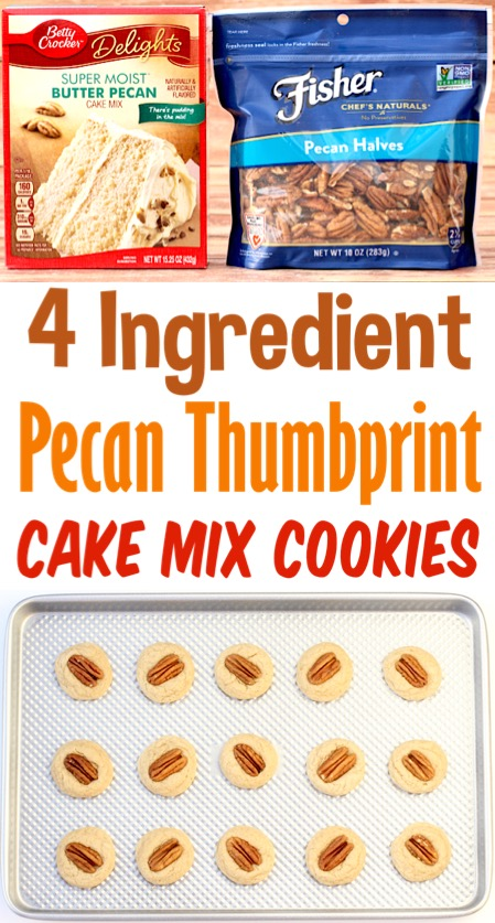 Pecan Cookies for Christmas Easy Chewy Simple Pecan Cake Mix Cookie Recipe