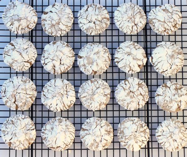 Spicy Crinkle Cookies