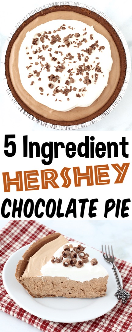 Chocolate Pie Recipe Easy Old Fashioned Homemade Pies