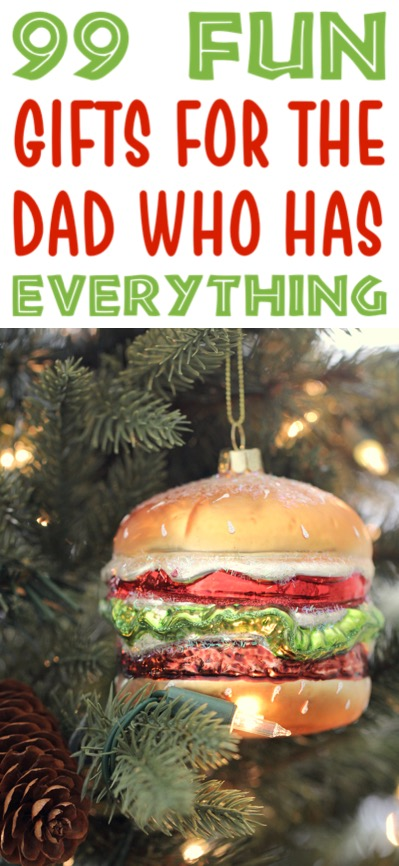 Christmas Gifts for Dad to buy from Kids or Adults