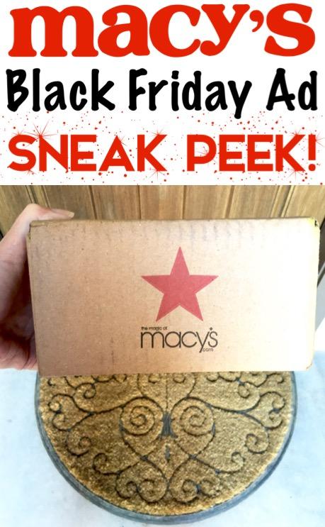 Macy's Black Friday Ad Sneek Peak