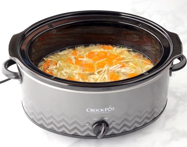 Crockpot Chicken Noodle Soup Recipe